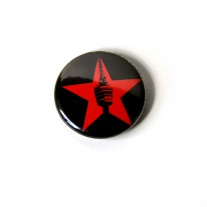 "Button ""roter Stern"""